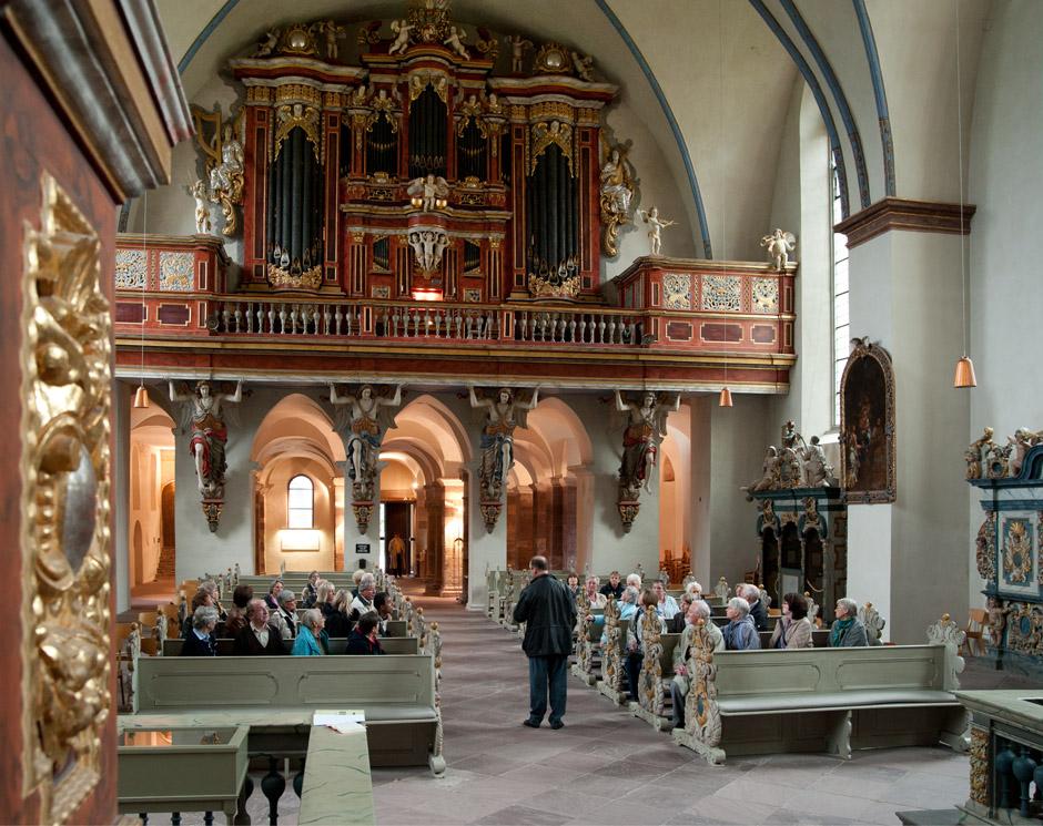 Orgelführung in Corvey