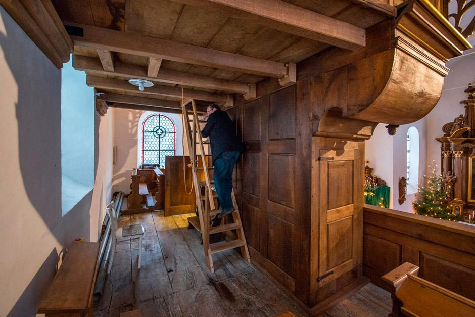 Kloster Brunnen (Sundern), Orgel