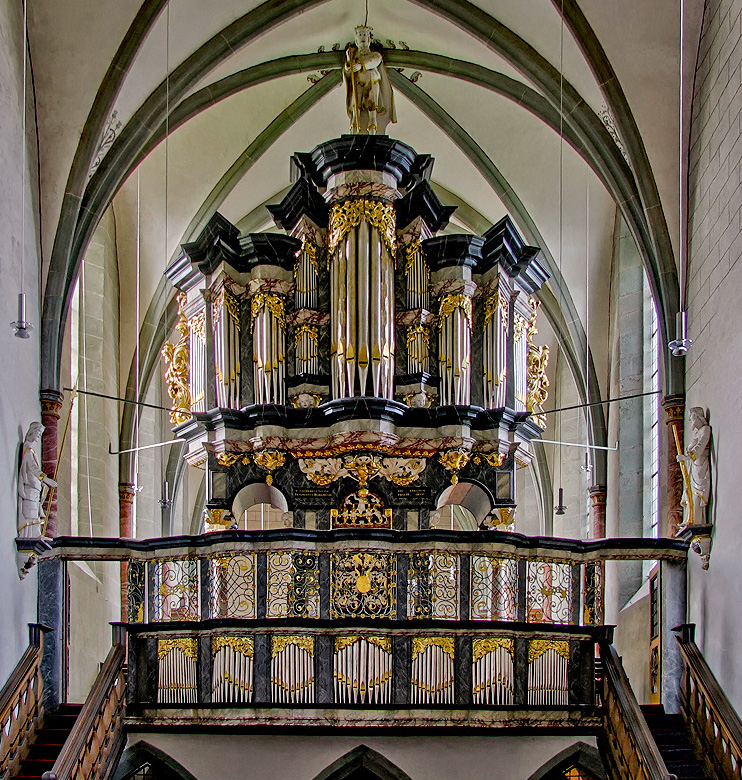 Orgel in Oelinghausen