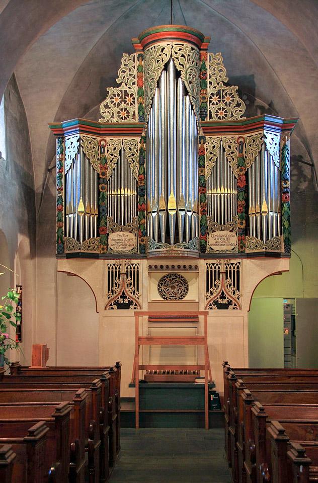 Orgel St. Andreas Osttönnen