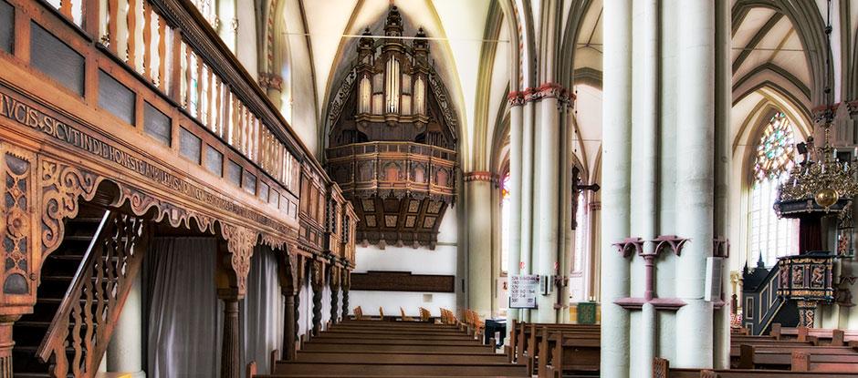 Lemgo St. Marien Schwalbennestorgel